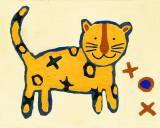 Leopard Kunst af Liz Clay