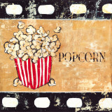 Popcorn and Treats Poster von Tara Gamel