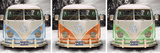 VW Camper - tryptich Photo