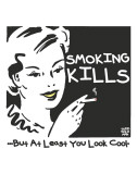 Smoking Kills Print by Todd Goldman