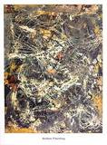 Untitled (1949) Psters por Jackson Pollock
