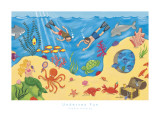 Undersea Fun Prints by Sophie Harding