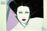 Commemorative 15 Serigraph by Patrick Nagel