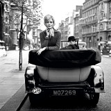 Lucinda in London, 1959 Print by Georges Dambier