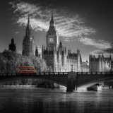 London Bus IV Láminas por Jurek Nems