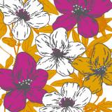 Flower Garden I Print by Sasha Blake
