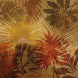 Sunlit Palms I Prints by John Seba