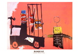 Molasses Affiches par Jean-Michel Basquiat