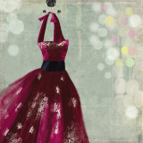 Fuschia Dress I Posters par Aimee Wilson