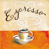 Espresso Print by Karen Bates