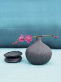 Blaue Natur Kunst von Amelie Vuillon