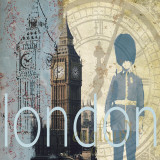 London Prints by Paula Shaffer