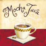 Mocha Java Prints by Karen Bates