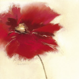 Red Poppy Power II Prints by Marilyn Robertson