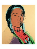American Indian Poster van Andy Warhol