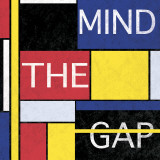 Mind The Gap Poster by Max Carter