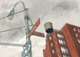 N. Moore Street Posters by André Juillard