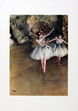 Ballet Dancers Collectable Print by Edgar Degas