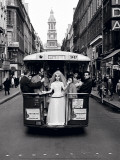 Paris, 1961, Wedding Dress Prints by Frank Horvat