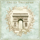 Arc de Triomphe Poster by David Fischer