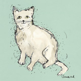 Kitty Tales II Prints by Clare Ormerod