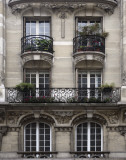 Balcon Parisien II Art by Tony Koukos