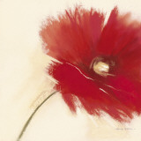 Red Poppy Power I Posters by Marilyn Robertson