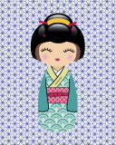 Kokeshi 1 Art by Ladyleia 