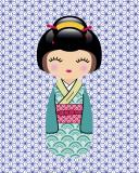 Kokeshi 1 Art by  Ladyleia
