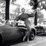 M.G. Girl, Paris, 1957 Kunstdrucke von Georges Dambier