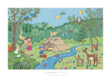Summer Fun Prints by Sophie Harding