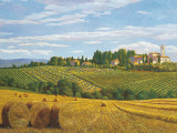 Campo in Toscana Posters af Andrea Del Missier