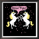Unicorn Glitter Fight Prints