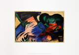 Green Horse Posters by Franz Marc