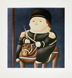 St Georg Poster von Fernando Botero