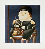 St Georg Prints by Fernando Botero