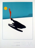 Male Figure & Shadow Prints by Ernest Trova