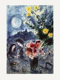 Souvenir D'Une Soiree Samlertryk af Marc Chagall