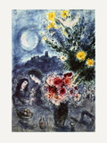Souvenir D'Une Soiree Collectable Print by Marc Chagall