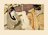 Untitled (Scene 1) Collectable Print by Utamaro Kitagawa