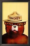 Smokey the Bear Print