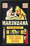 Marihuana Print
