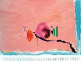 Flirt Serigraph by Helen Frankenthaler