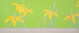 Daylillies Siebdruck von Alex Katz
