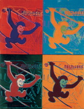 Four Monkeys lg. Reproductions pour les collectionneurs par Andy Warhol