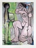La Coiffure Kunstdrucke von Pablo Picasso
