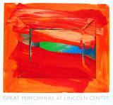 The Sky&#39;s The Limit Serigraph by Howard Hodgkin