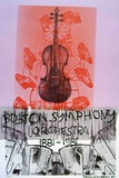 Boston Symphony Orchestra Collectable Print by Robert Rauschenberg