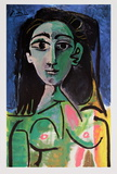 Buste de Femme (Jaqueline) Reprodukcje autor Pablo Picasso