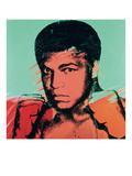 Muhammad Ali Photo by Andy Warhol
